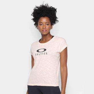 Camiseta Oakley Trn Logo Feminina
