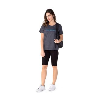 Camiseta Olympikus Estampada Feminina