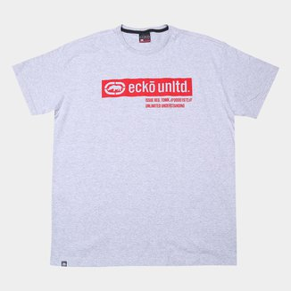 Camiseta Plus Size Ecko Masculina