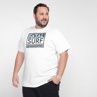Camiseta Plus Size Fatal Estampada Masculina