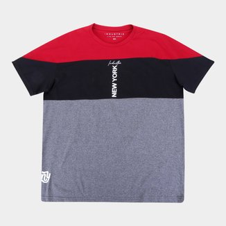 Camiseta Plus Size Industrie New York Masculina