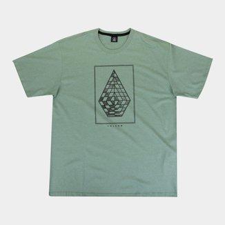 Camiseta Plus Size Volcom Expel Masculina