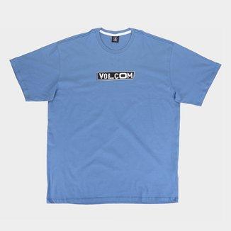 Camiseta Plus Size Volcom Pist Shane Masculina