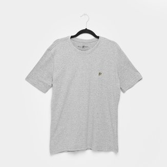 Camiseta Polo King Básica Mini Logo Masculina