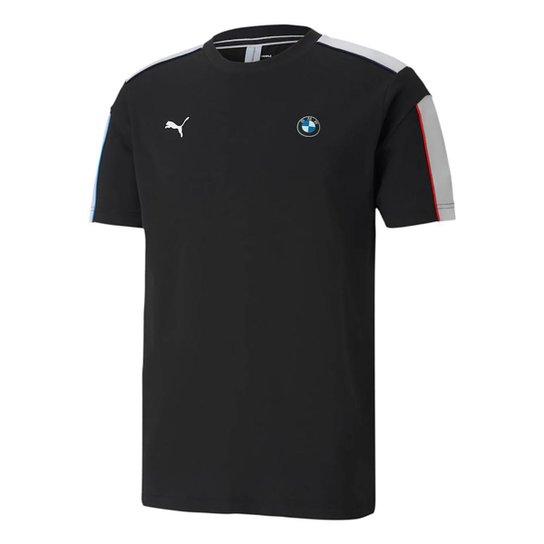 Camiseta Puma BMW Masculina - Preto