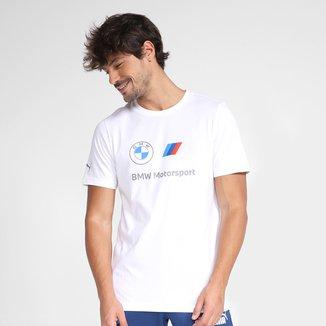 Camiseta Puma BMW MMS ESS Logo Masculina