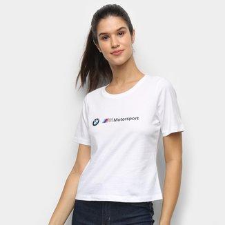 Camiseta Puma BMW MMS Logo Feminina