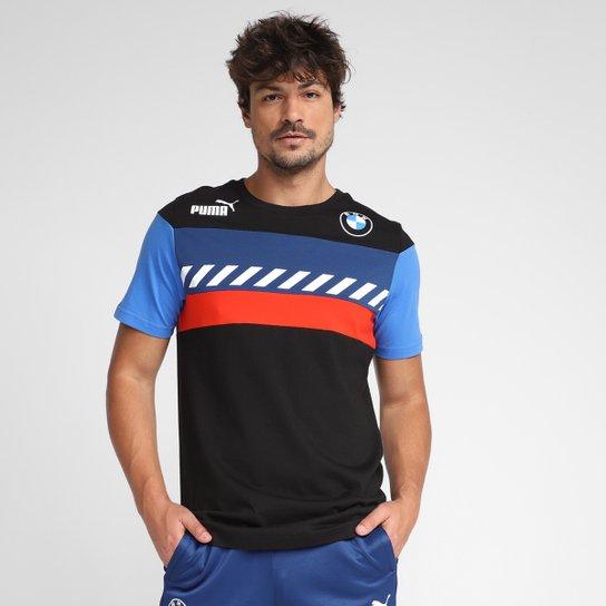 Camiseta Puma BMW MMS Masculina - Preto