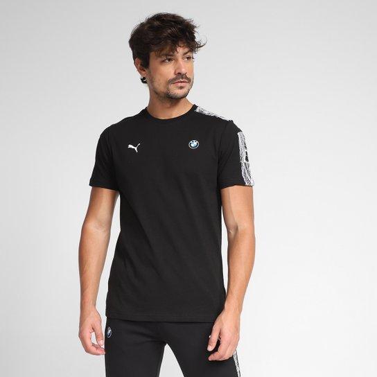Camiseta Puma BMW MMS T7 Masculina - Preto