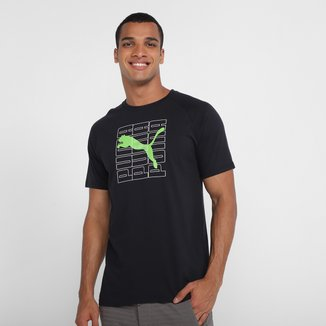 Camiseta Puma Dimensional Graphic Masculina