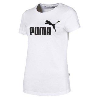 Camiseta Puma Ess Logo Feminina