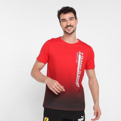 Camiseta Puma Ferrari Race Graphic Masculina