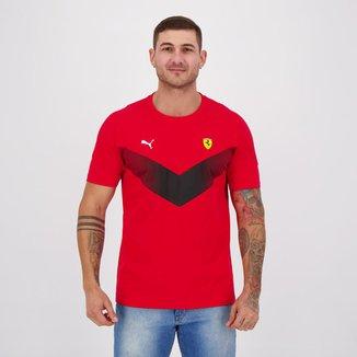 Camiseta Puma Ferrari Race MCS Masculina