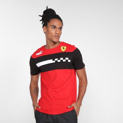 Camiseta Puma Ferrari Race SDS Masculina