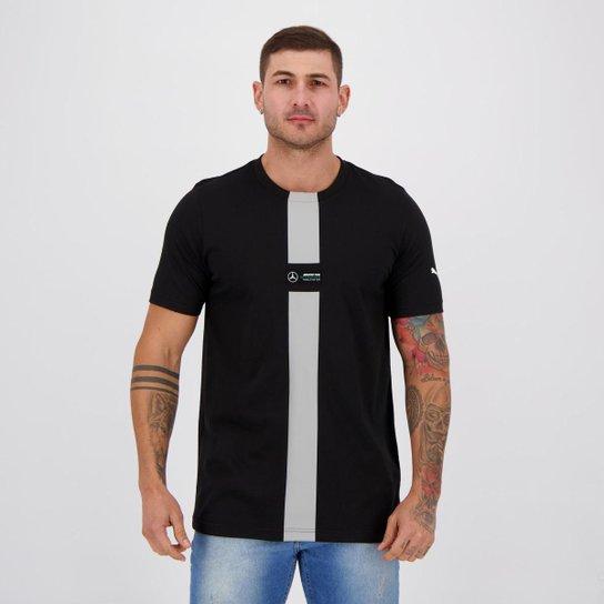Camiseta Puma MAPF1 XTG Masculina - Preto