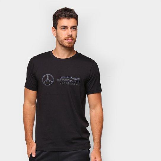 Camiseta Puma MAPM Logo Masculina - Preto