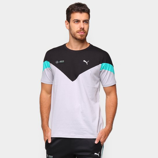 Camiseta Puma MAPM MCS Masculina - Cinza