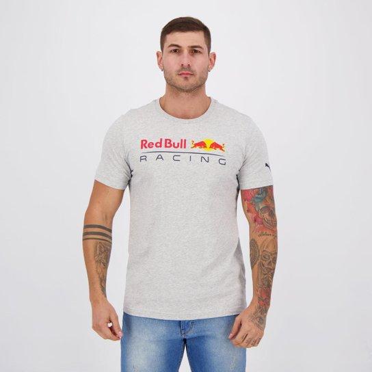 Camiseta Puma RBR Logo Masculina - Cinza