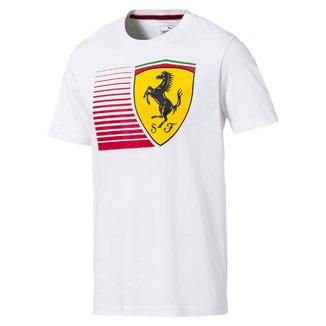 Camiseta Puma Scuderia Ferrari Big Shield Tee Masculina