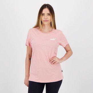 Camiseta Puma Small Logo Feminina
