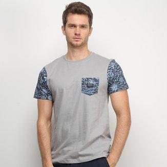 Camiseta Quiksilver Esp Alta Tripper Masculina