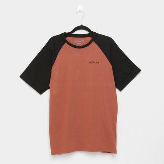 Camiseta Raglan Hurley Enjoy Masculina