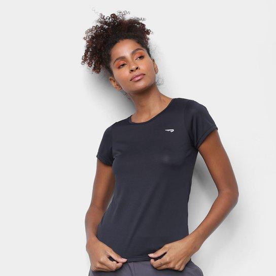 Camiseta Rainha Básica Dry Sport Feminina - Preto