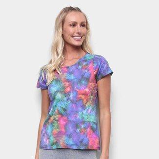 Camiseta Rainha Básica Mini Logo Feminina