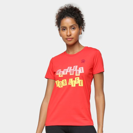 Camiseta Rainha Soft Feminina - Vermelho