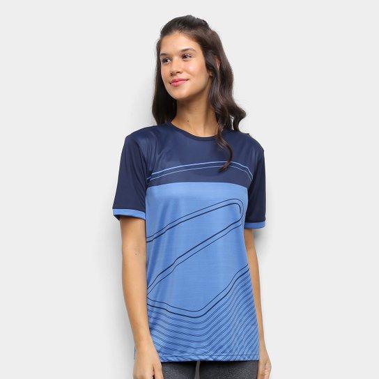 Camiseta Rainha Step Feminina - Marinho