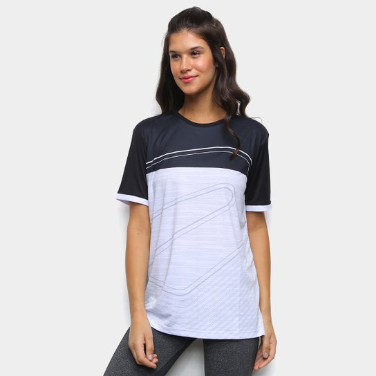 Camiseta Rainha Step Feminina - Branco