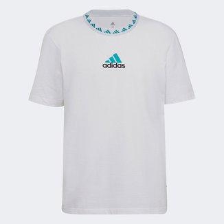 Camiseta Real Madrid Icon 21/22 Adidas Masculina