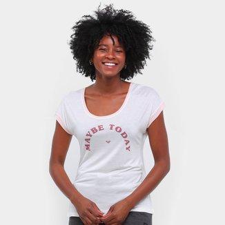 Camiseta Roxy Vintage Maybe Today Feminina