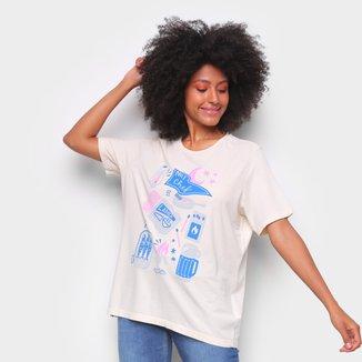 Camiseta T-Shirt Cantão Boyfriend Chef Feminina