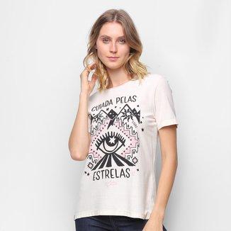 Camiseta T-Shirt Cantão Classic Esotérica Feminina