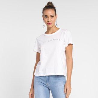 Camiseta T-Shirt Forum Manga Curta Feminina