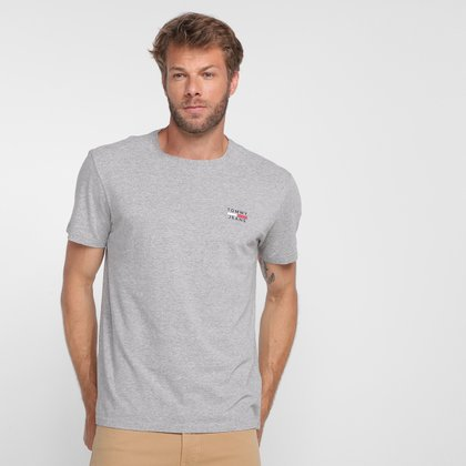Camiseta Tommy Jeans Casual Masculina