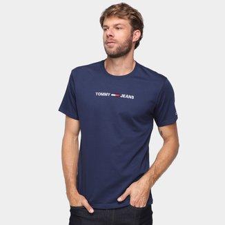 Camiseta Tommy Jeans Logo Masculina