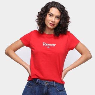 Camiseta Tommy Jeans MC ES6 JST Feminina