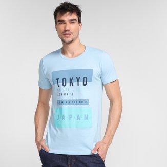 Camiseta Tribo Santa Tokyo Japan Masculina
