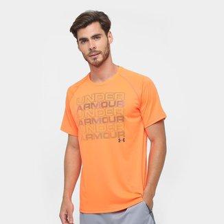 Camiseta Under Armour Keep Staking Wm Masculina