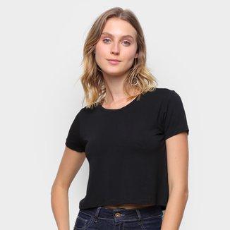 Camiseta Volare Cropped Básica Feminina