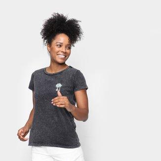 Camiseta Volcom Especial Lock It Up Feminina
