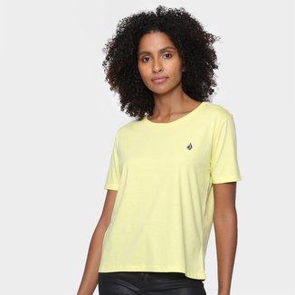 Camiseta Volcom Stoked On Stone Feminina
