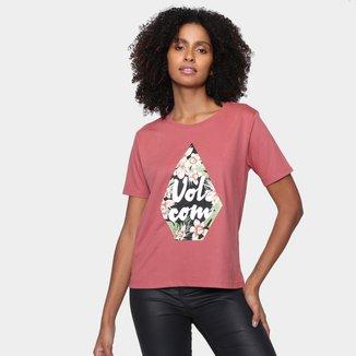 Camiseta Volcom Stone Floral Feminina