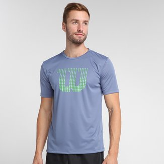 Camiseta Wilson Clay Masculina