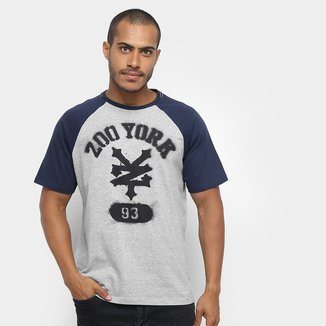 Camiseta Zoo York Stenciled Arched Masculina