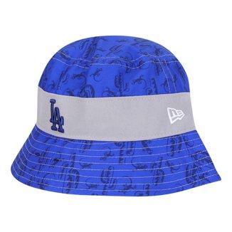 Chapéu Infantil New Era MLB Stbckt nelilprint B1 Los Angeles Dodgers Otc Masculino
