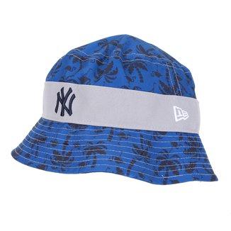 Chapéu Juvenil New Era MLB Stbckt Nelilprint B1 New York Yankees Otc Masculino