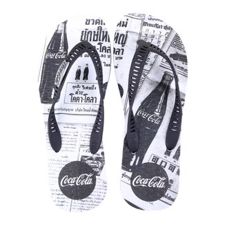 Chinelo Coca Cola Newspaper Masculino